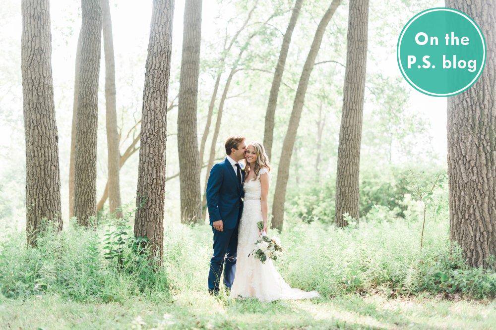 Real Weddings Archeo: Real Wedding: M & M
