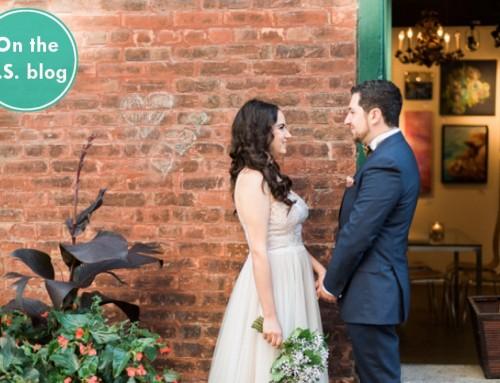Real Wedding: M & A